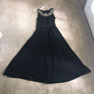 Haani black evening dress